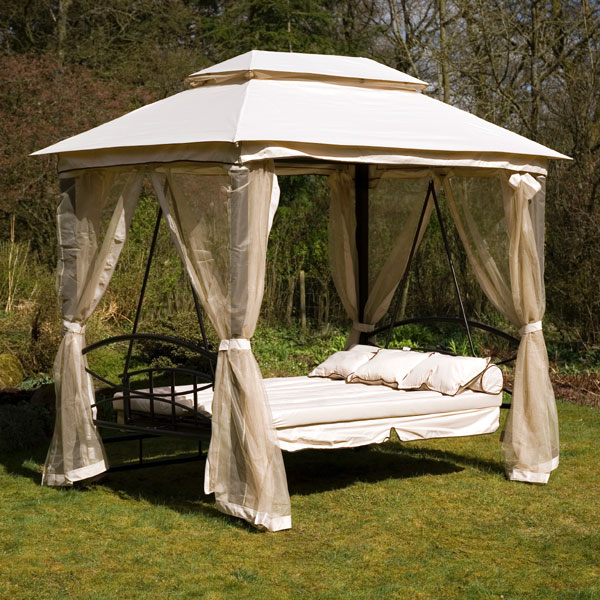customer reviews for ellister luxor swing seat gazebo. Black Bedroom Furniture Sets. Home Design Ideas