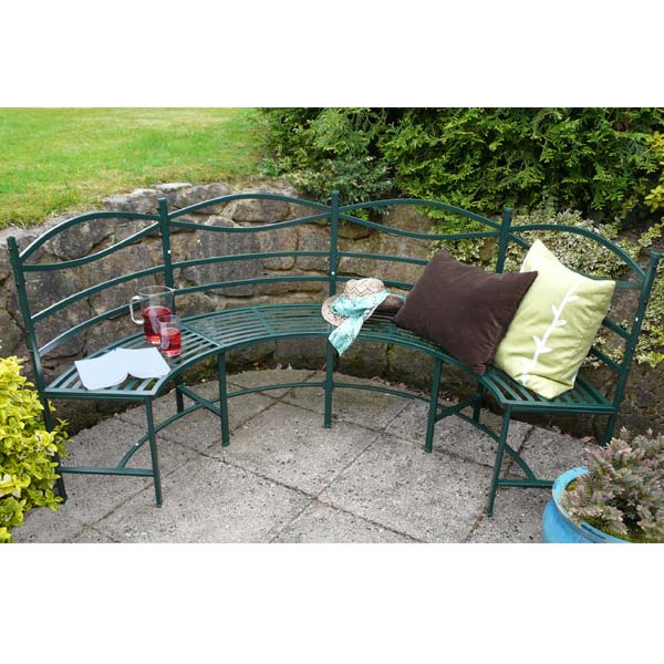 Customer Reviews for Semi Circle Metal Garden Bench