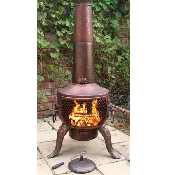The Chiminea Will Also Come Complete With Full Usage And
