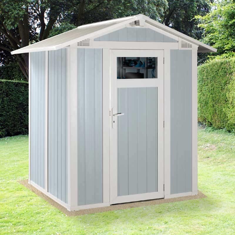 plastic storage sheds sale fast delivery greenfingerscom - Garden Sheds Quick Delivery