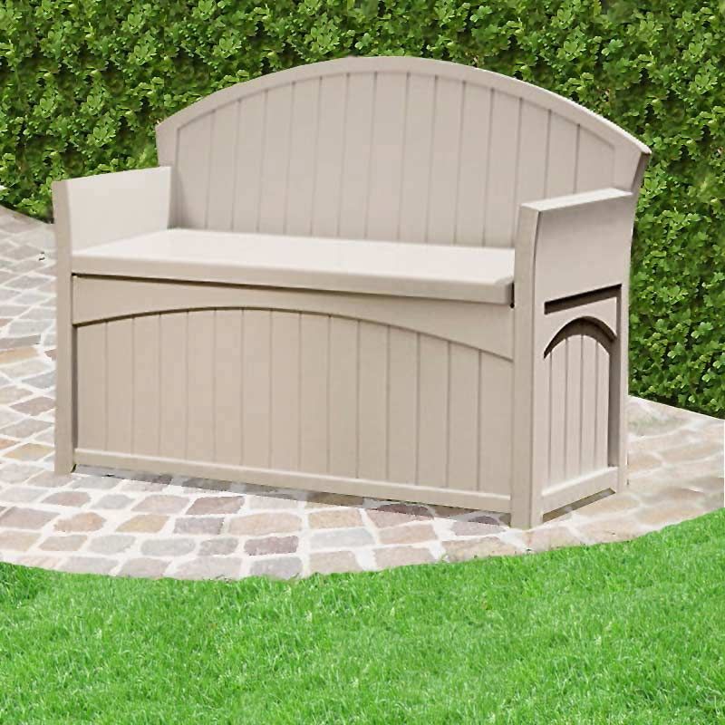 Suncast Patio Resin Storage Bench On Sale Fast Delivery