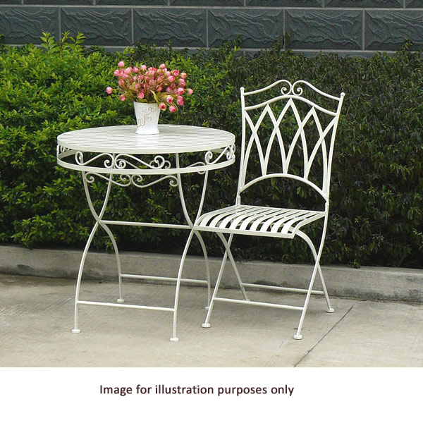 Customer reviews for greenfingers norwich 2 seater patio set for Garden decking norwich