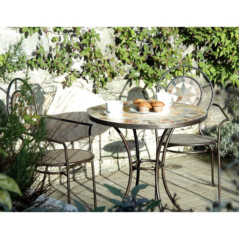Customer reviews for ellister zurich iron 2 armchairs 70cm for Outdoor furniture zurich