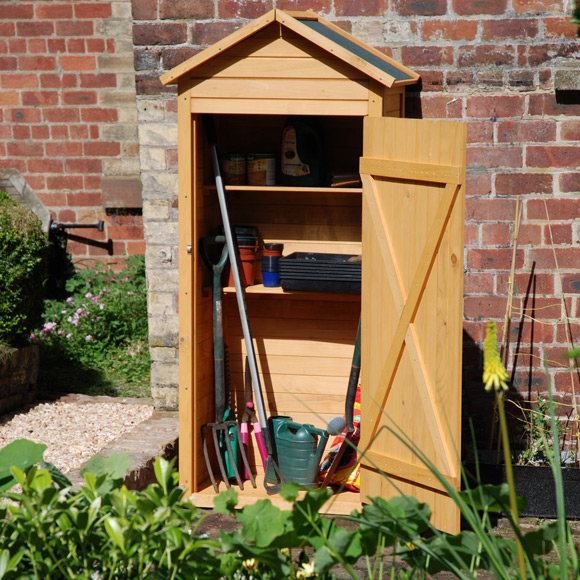 Customer Reviews For Fsc Wooden Tool Shed Greenfingers Com