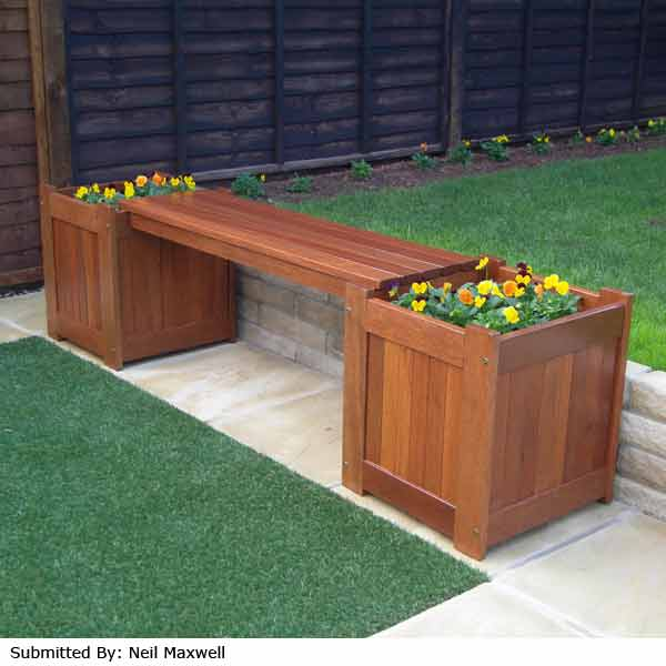Greenfingers Planter Box Garden Bench On Sale Fast Delivery