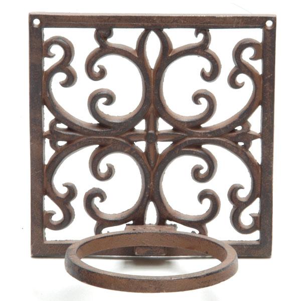 Cast iron flower pot holder on sale fast delivery greenfingers com