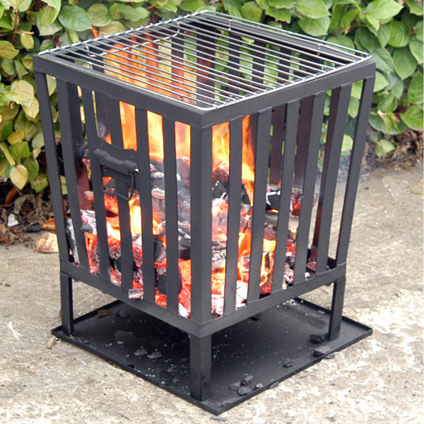 Customer Reviews for Square Fire Basket with Grill