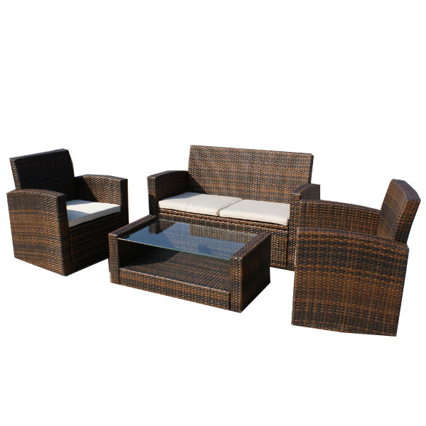 customer reviews for valencia rattan sofa set with cushion. Black Bedroom Furniture Sets. Home Design Ideas