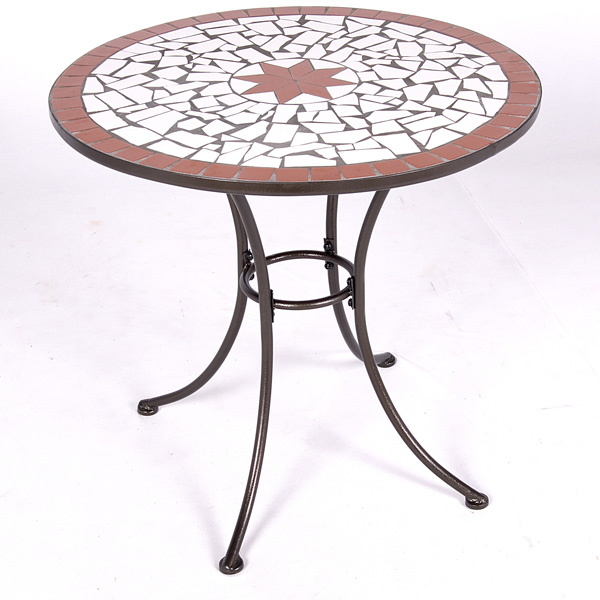 Customer Reviews For Patterned Mosaic Bistro Table