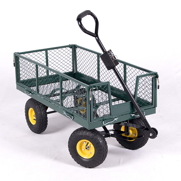 Terra Medium Garden Trolley 200 Kg Capacity 123x52x27cm High