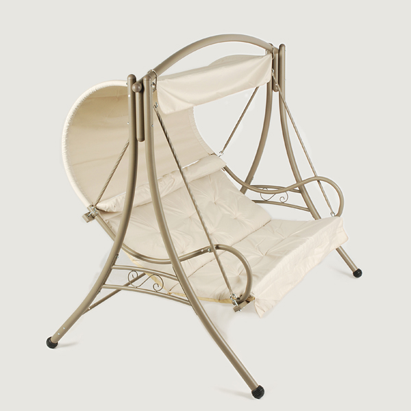 Ellister seville swing seat natural on sale fast for Extra wide swing seat