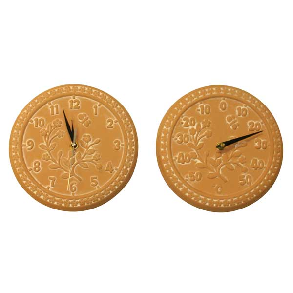 Customer Reviews For Terracotta Flowers Wall Clock