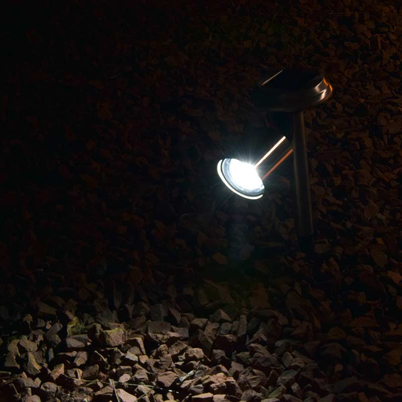 Kingavon Solar Spotlight Stainless on Sale Fast Delivery Greenfingers.com