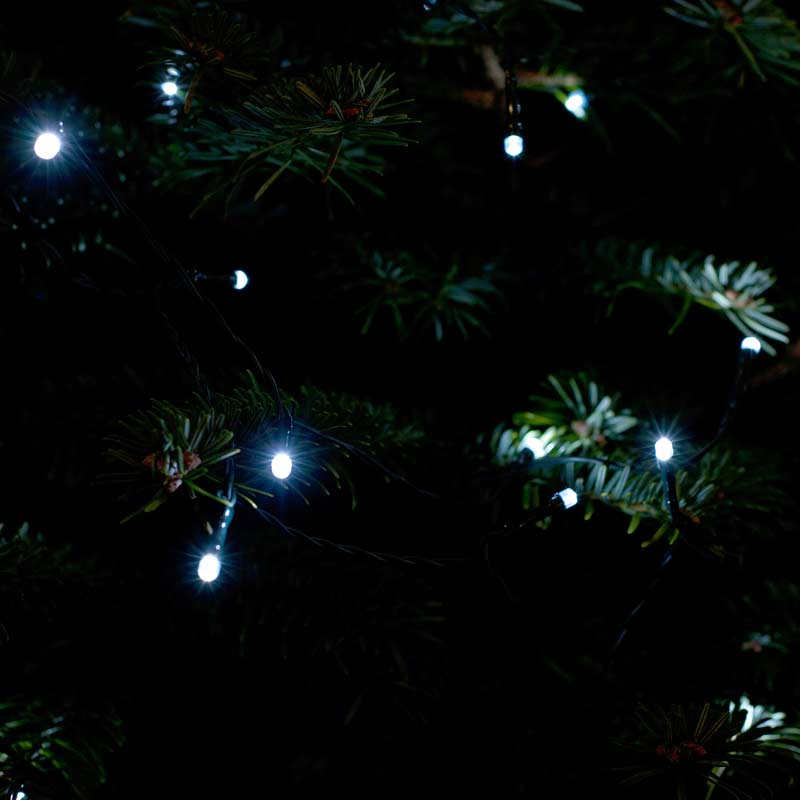 Solar Led String Lights : Illuminate your garden at night with this set of