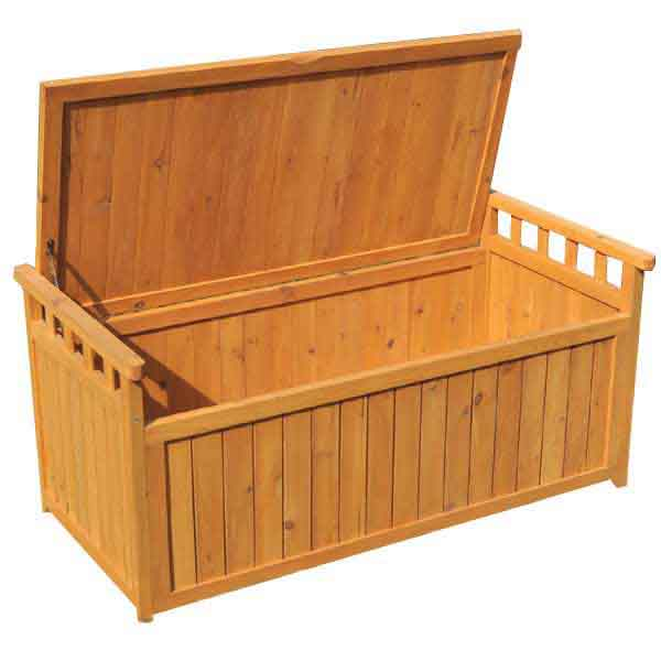 Greenfingers 2 Seater Storage Bench On Sale Fast Delivery