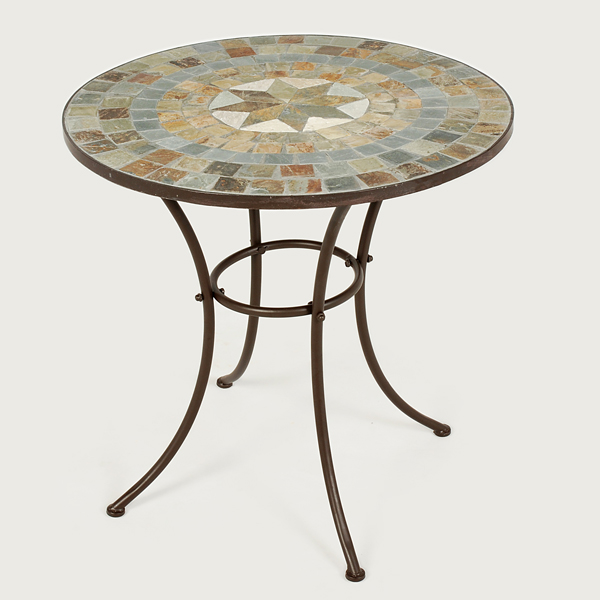 Ellister zurich mosaic patio table 70cm on sale fast for Patio table sets on sale