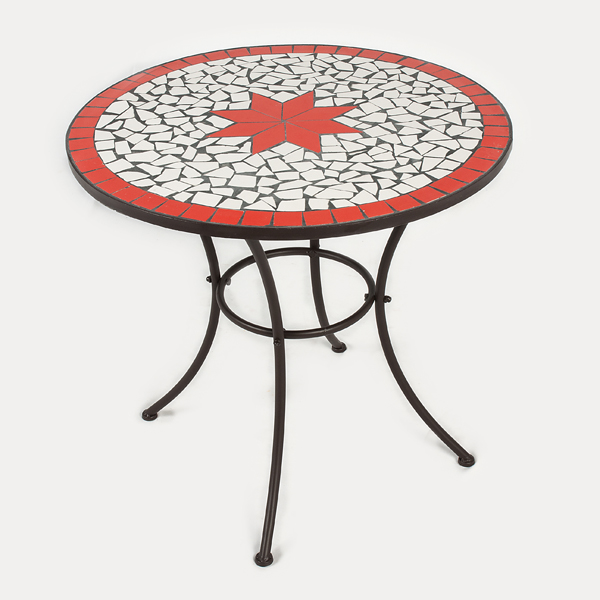 Customer Reviews For Greenfingers Mosaic Bistro Table 76cm