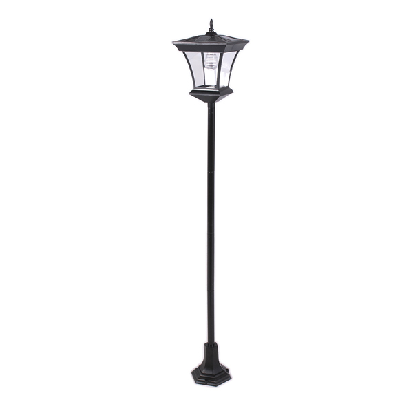 greenfingers solar lamp post. Black Bedroom Furniture Sets. Home Design Ideas