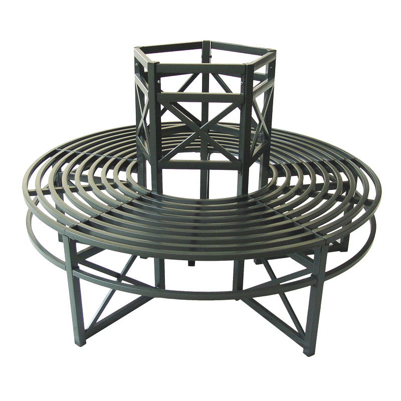 Customer Reviews For Ellister Stamford Circular Tree Seat Green Antique Finish: circular tree bench