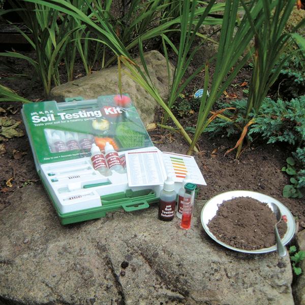 instructions for soil testing kit