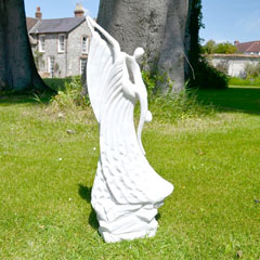 Europa Leisure Solstice Sculptures Ballroom Grace Statue - White