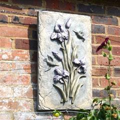 Europa Leisure Solstice Sculptures Lilac Bud Flower Plaque