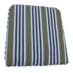 Europa Leisure Reno Pad Green Stripe Twin Pack