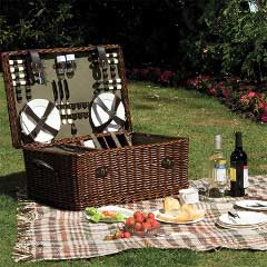Lifestyle Willow Picnic Hamper