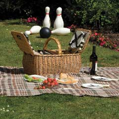 Lifestyle Willow Picnic Hamper 4 Person