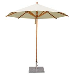 Bambrella Levante Round Parasol 2.5m - Polyester