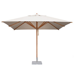 Bambrella Levante Rectangular Parasol 2.5 x 3.5m - Polyester