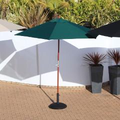Cozy Bay 3m Parasol Green � Pulley