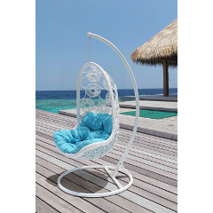 Cozy Bay Apollo Hanging Chair - White