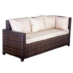Oseasons Morocco Flex Rattan 3 Seater Corner Sofa