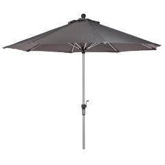 Oseasons 2.7m Parasol Grey � Crank