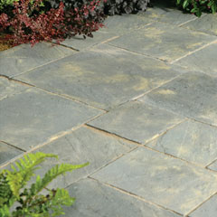 Abbey Paving Random Patio Kit Antique