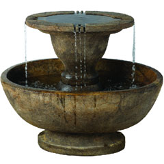 Henri Studios Alfresco Fountain - Relic Lava