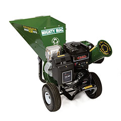 Mighty Mac Leaf-Shredder-Chipper 249cc OHV 73mm