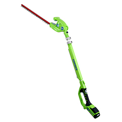 Greenworks Long Reach Hedge Trimmer 24V/51cm - Tool Only