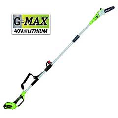 Greenworks Polesaw 40V/20cm with 2Ah Battery and Charger