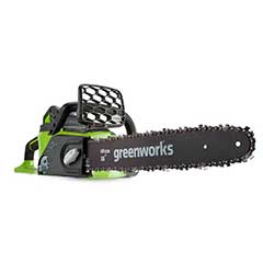 Greenworks Cordless Chainsaw 40V/40cm with Batterie and Charger