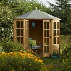 Rowlinson FSC Ryton Octagonal Summerhouse