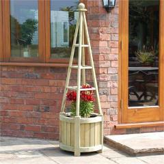 Rowlinson FSC Marberry Obelisk Planter