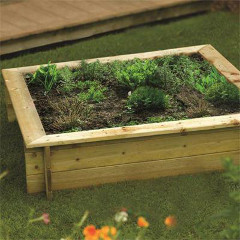 Rowlinson FSC Raised Bed or Sandpit