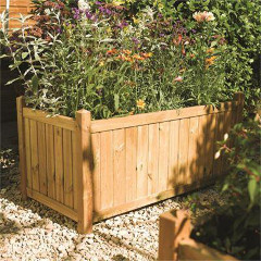 Rowlinson FSC Rectangular Planter