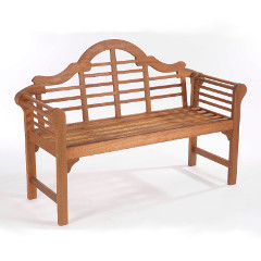 Greenhurst Lutyens Style Bench 2 Person – Natural
