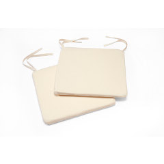 Greenhurst Bistro Pads Cushion 39 x 38cm � Cream