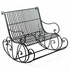 Dora''s Choice Rocking Bench and Table