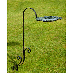 New Forest Leaf Design Bird Bath / Feeder