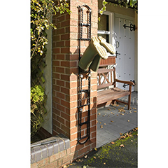 Wall Mounted Wellies Rack - 4 Pairs